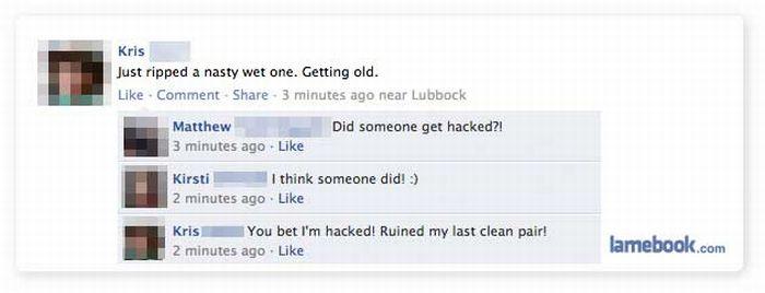 Funny Facebook Conversations and Fails (62 pics)