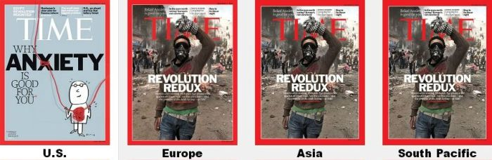 Time Magazine Covers in Different Regions (8 pics)