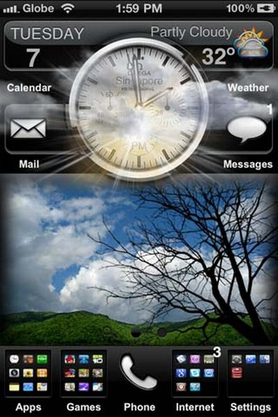Best iPhone 4 Themes (50 pics)
