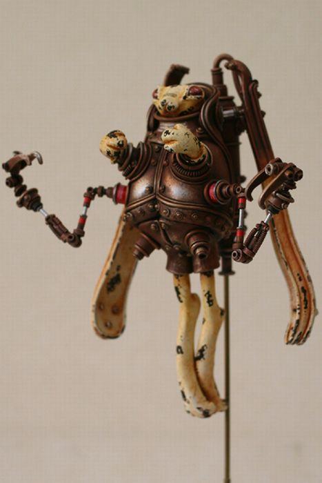 Steampunk Creatures (49 pics)
