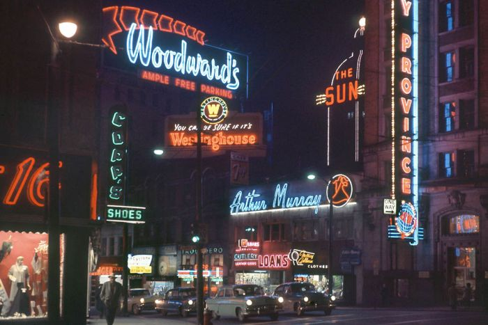 Vancouver in the 60's (20 pics)
