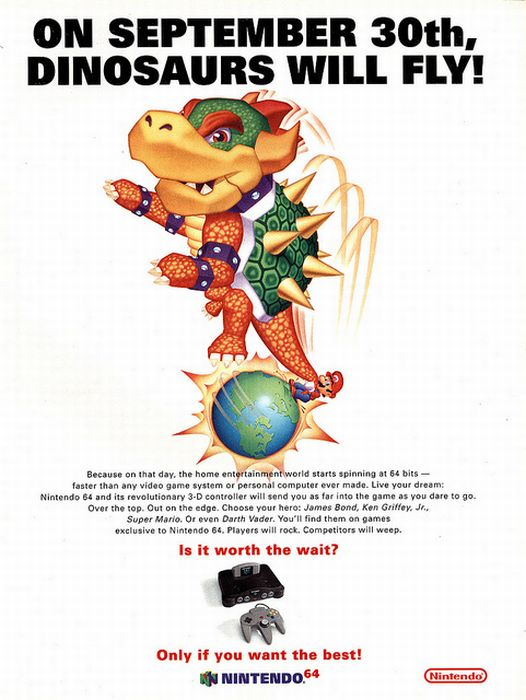 Vintage Video Game Print Ads (54 pics)