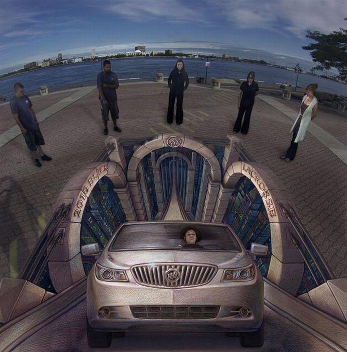 Beautiful 3-D Illusions by Kurt Wenner (25 pics)