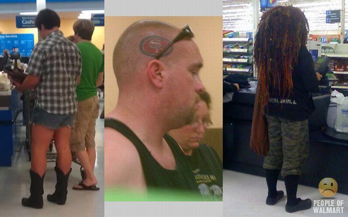 People of WalMart. Part 14 (58 pics)