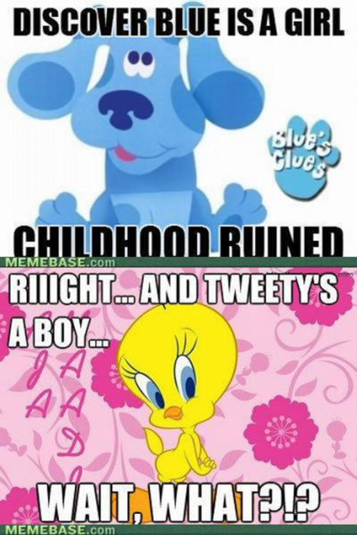 Images That Ruin Your Childhood (17 pics + 3 gifs)