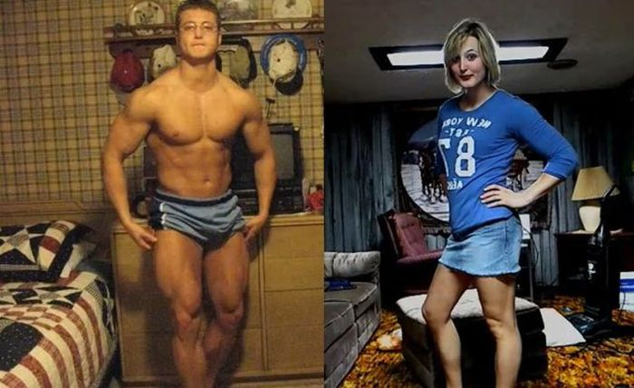 2 Year Long Male-to-Female Transformation (49 pics)