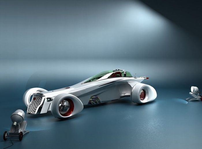 Cars And Motorcycles Of The Future (77 pics)