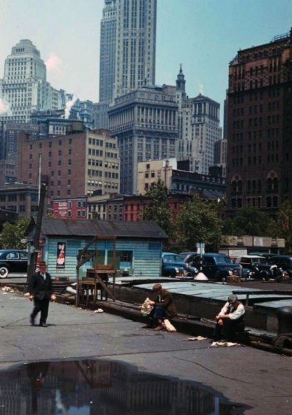 1941 New York City Photos in Color (24 pics)