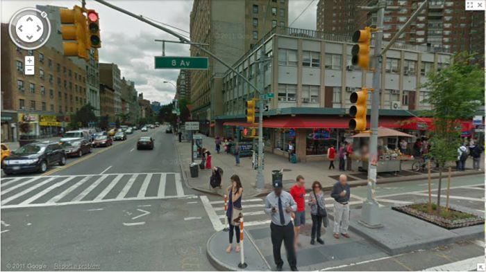 Album Covers on Google Street View (24 pics)
