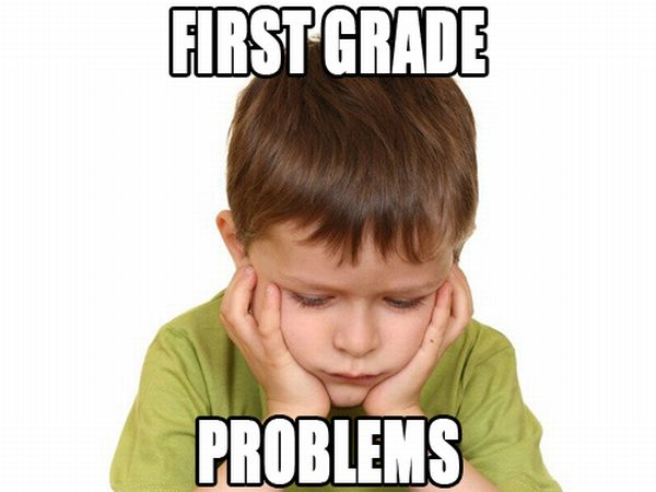First Grade Problems (19 pics)