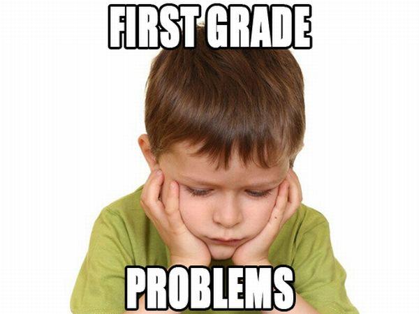 First Grade Problems (19 pics)