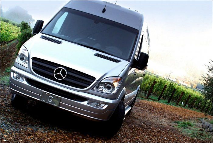 The Best Mercedes Benz Van Ever (24 pics)