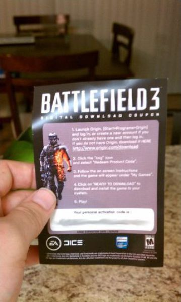 Here is Your Copy of Battlefield 3 (7 pics)