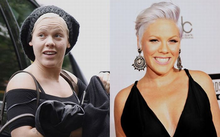 Celebrities Without Makeup (96 pics)