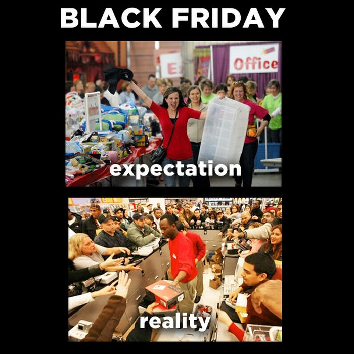 Holiday Expectations Vs Reality (12 pics)