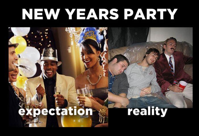 Holiday Expectations Vs Reality (12 pics)
