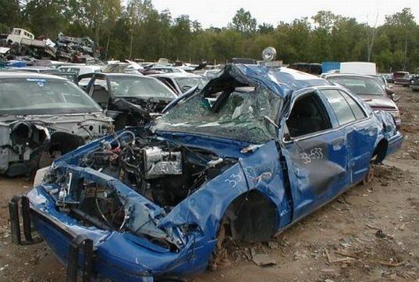 Police Car Crashes (125 pics)