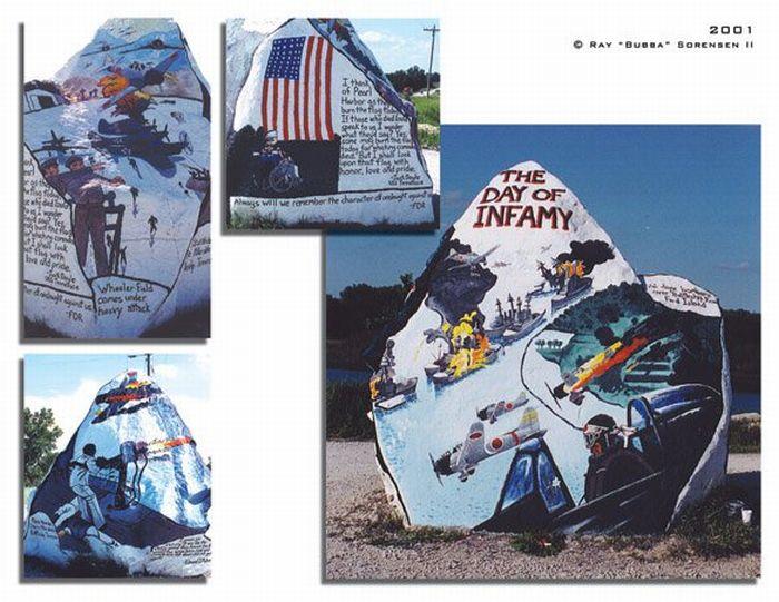 The Freedom Rock (19 pics)
