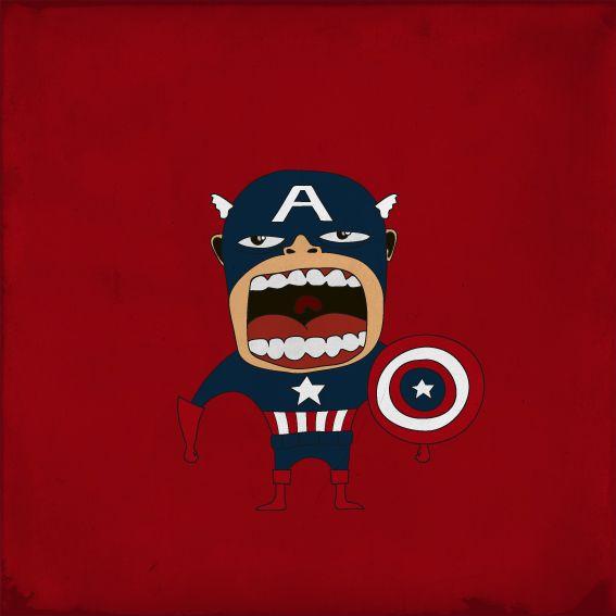Screaming Superheroes (16 pics)