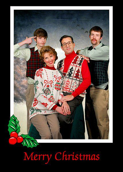 Awkaward Family Christmas Pictures (50 pics)