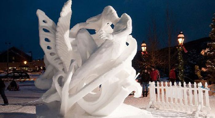 Beautiful Snow Sculptures (36 pics)