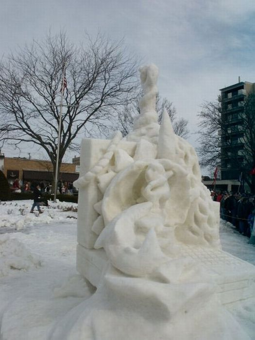 Beautiful Snow Sculptures (36 фото)