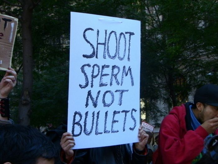 The 40 Best Protest Signs Of 2011 (40 pics)
