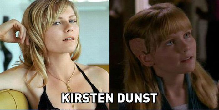 Random Famous People You Never Knew Were in Star Trek (13 pics)