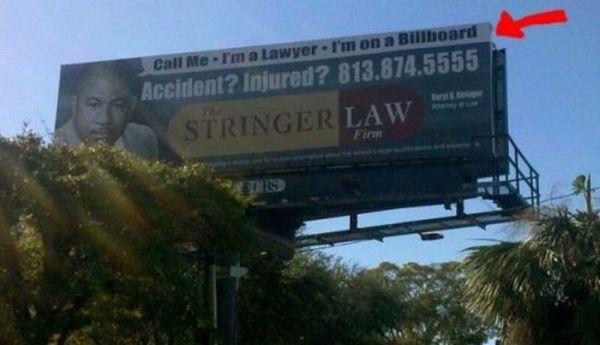 Funny Lawyer Billboards (18 pics)