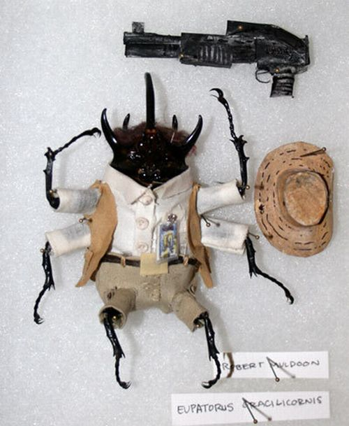 "Giant Beetles In ""Jurassic Park"" Costumes (12 pics)"