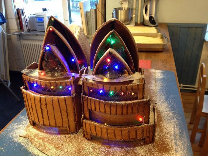 Gingerbread Sydney Opera House (9 pics)