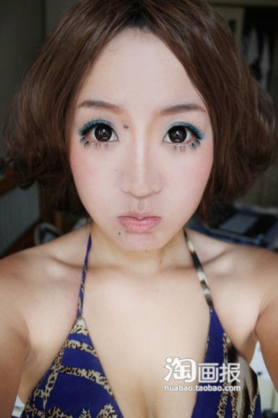 Makeup Makes a Girl Look Much Prettier (31 pics)