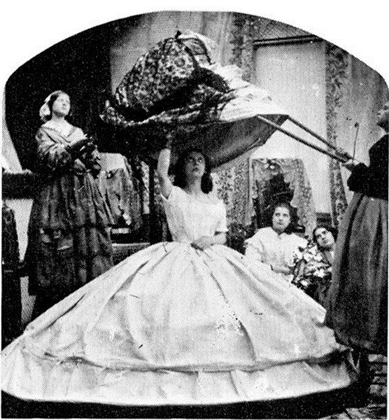 Getting Dressed in 1860 (5 pics)