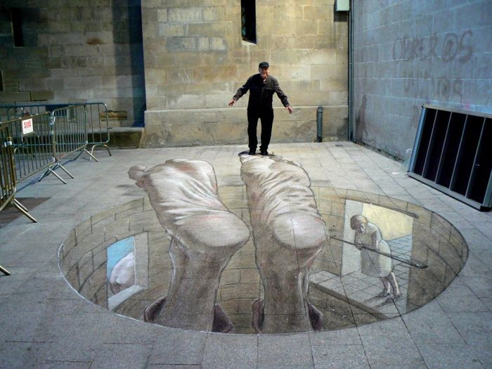 Amazing 3D Street Art Illusions (30 pics)