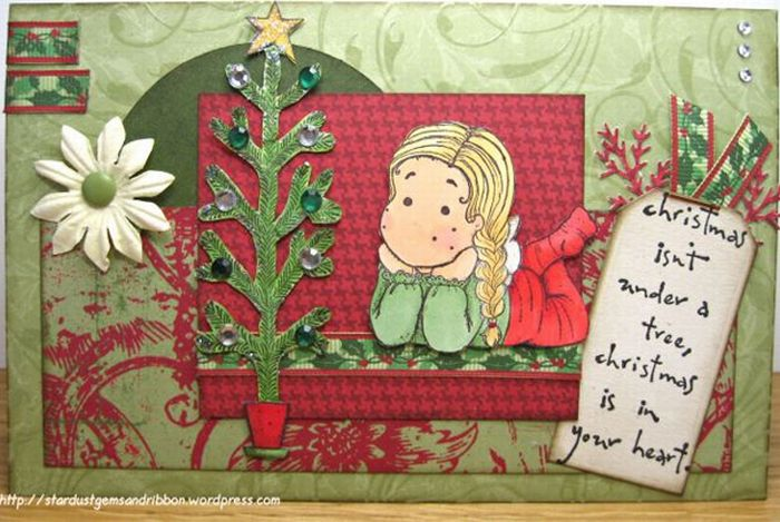 Creative Christmas Greeting Cards (30 pics)