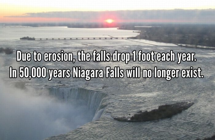 Things You Probably Didn't Know About Niagara Falls (10 pics)