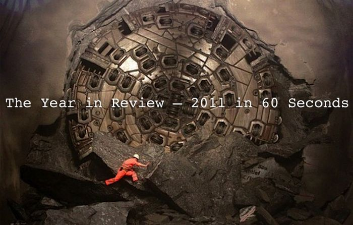 """Reuters: The Year in Review – """"2011 in 60 Seconds"""" (video)"""