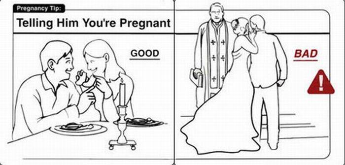 Hilarious Pregnancy Tips (23 pics)