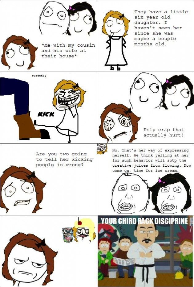 Parents-Related Rage Comics (40 pics)