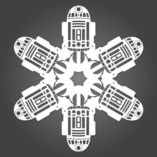 Star Wars Snowflakes (20 pics)