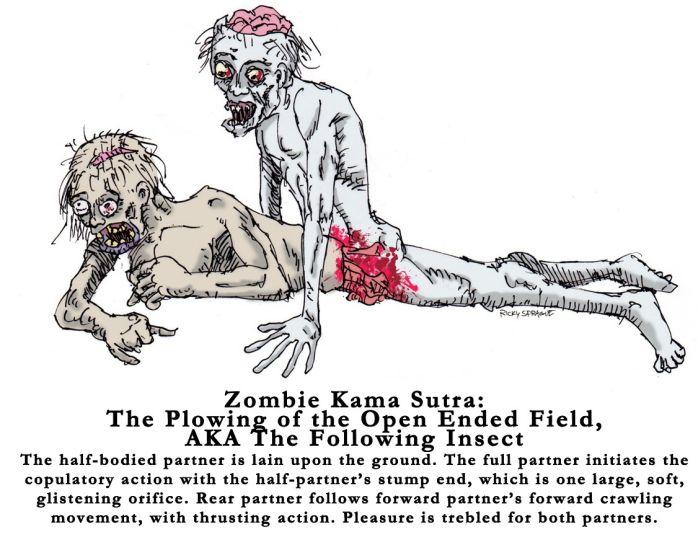 Zombie Kama Sutra (6 pics)