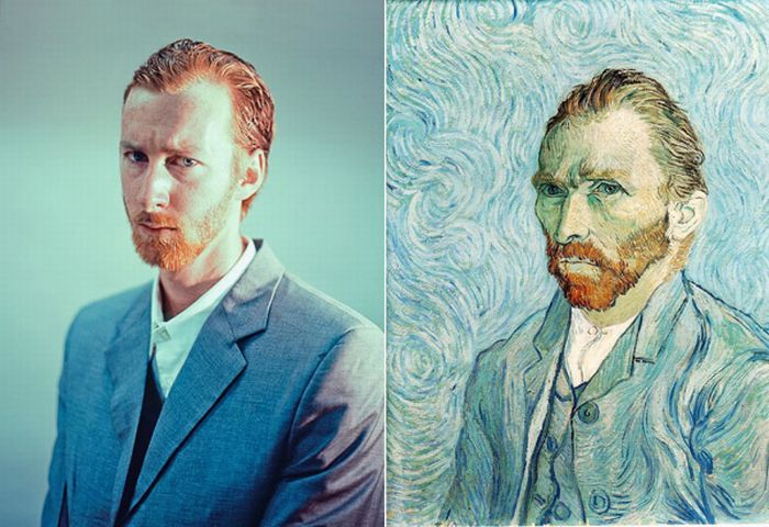 Classic Paintings Re-Imagined (13 pics)