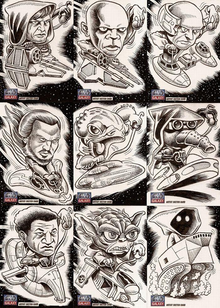 105 Star Wars Galaxy (12 pics)