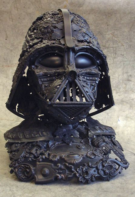 Darth Vader Sculpture (9 pics)