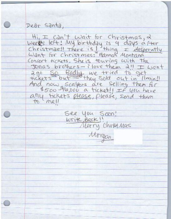 Funny Letters to Santa (25 pics)