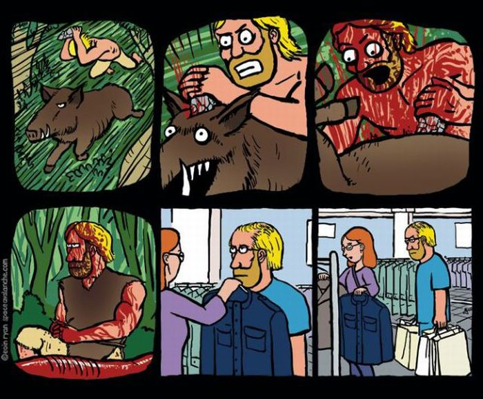 The Funniest Comic Strips of 2011 (60 pics)