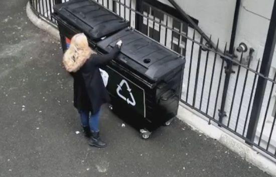 Hilarious Recycle Prank