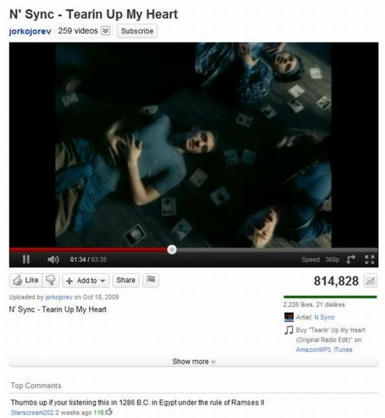 Funny Youtube Comments (25 pics)
