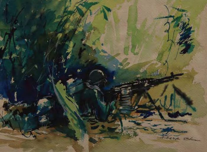 War Drawings by US Soldiers (114 pics)