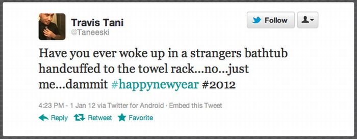 People Who Woke Up On New Year's Day In A Strange Place (25 pics)